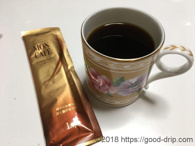 片岡物産|モンカフェのコーヒー鑑定士ブレンド